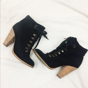 Seychelles Lace Up Ankle Bootie